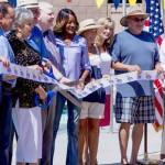 John H Furbee Pool Dedication and Opening ribbon cutting