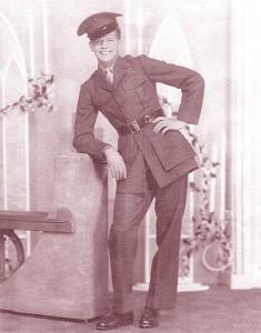 My dad, John Ellsworth Glodfelter in Marine uniform