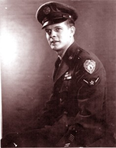 My Dad, John Ellsworth Glodfelter in Air Force uniform