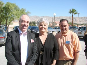 John Paul Valdez,Yvonne Parks and Adam Sanchez
