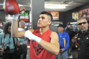 Diego De La Hoya ~Photo Credit: Carlos Baeza/Thompson Boxing Promotions