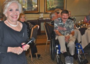Norma Fishkind, Bill Marx & Sharon Dihaworth:  Norma has multiple sclerosis and is one of the founding members of ACT for MS. Norma, keyboard entertainer Bill Marx and singer performer Sharon were part of the committee putting on the fundraiser.  Photos: Kate  Porter and  Alexis  Hunter