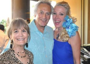 Norma Fishkind, Bill Marx & Sharon Dihaworth:  Norma has multiple sclerosis and is one of the founding members of ACT for MS. Norma, keyboard entertainer Bill Marx and singer performer Sharon were part of the committee putting on the fundraiser.  Photos: Kate  Porter and  Alexis  Hunter Photo:Kate  Porter and  Alexis  Hunter