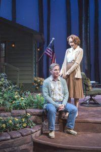 Richard Thomas as Jimmy Carter and Hallie Foote as Rosalynn Carter